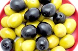Olives are part of the Mediterranean diet